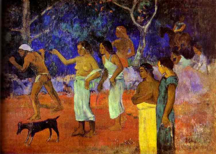 Scenes From Tahitian Life, Paul Gauguin