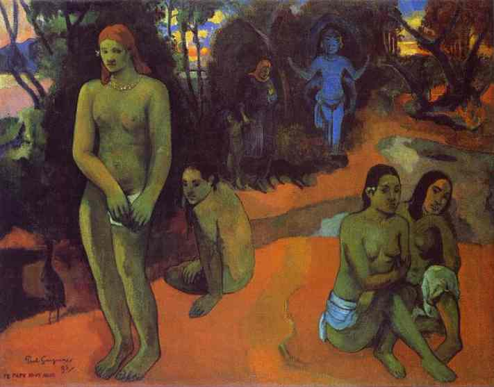 Te Pape Nave Nave Delectable Waters, Paul Gauguin