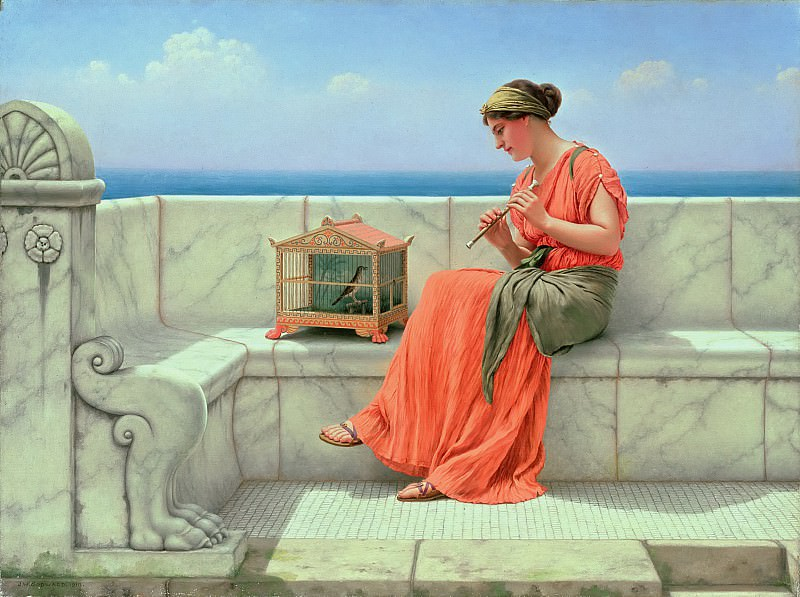 Song Without Words, John William Godward