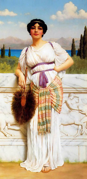 A Greek Beauty, John William Godward