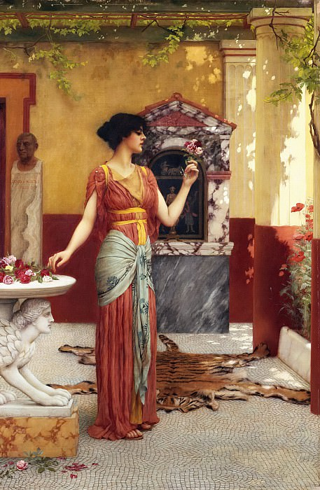 The Bouquet, John William Godward