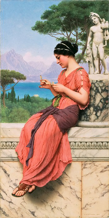 The Love Letter, John William Godward