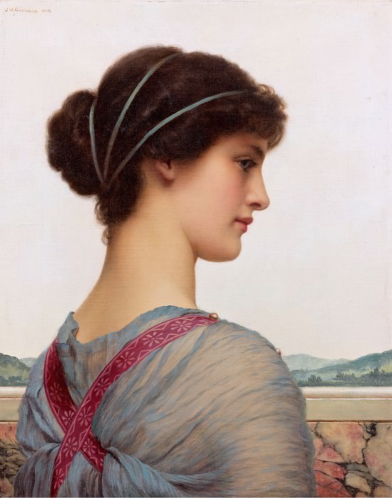 Classical Beauty, John William Godward