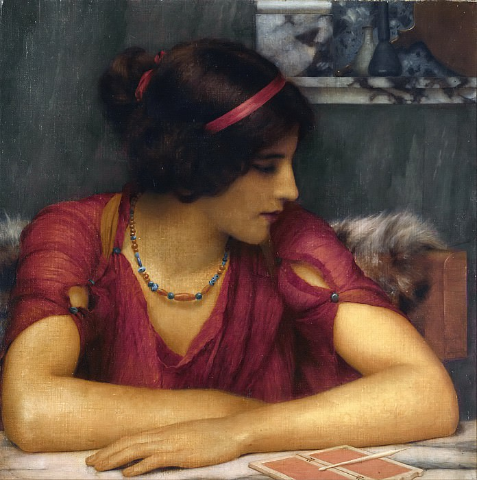 The Letter, John William Godward