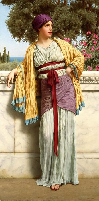 Cestilia, John William Godward