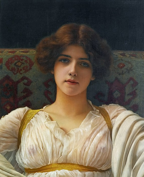 Miss Ethel Warwick, John William Godward
