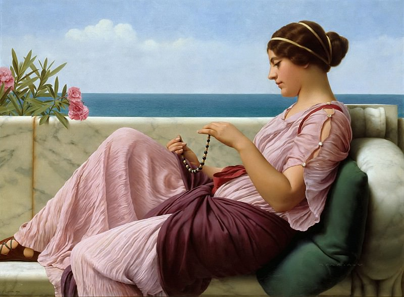 A Souvenir, John William Godward