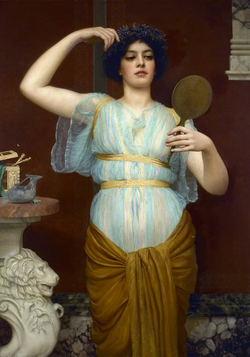 Ione, John William Godward