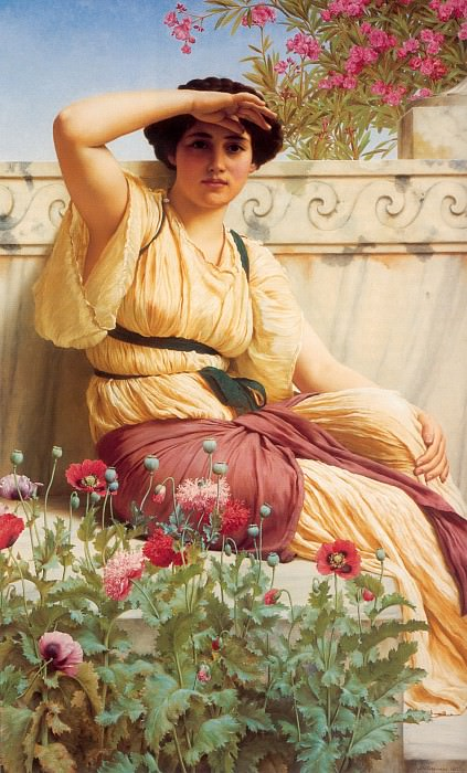 A Tryst, John William Godward