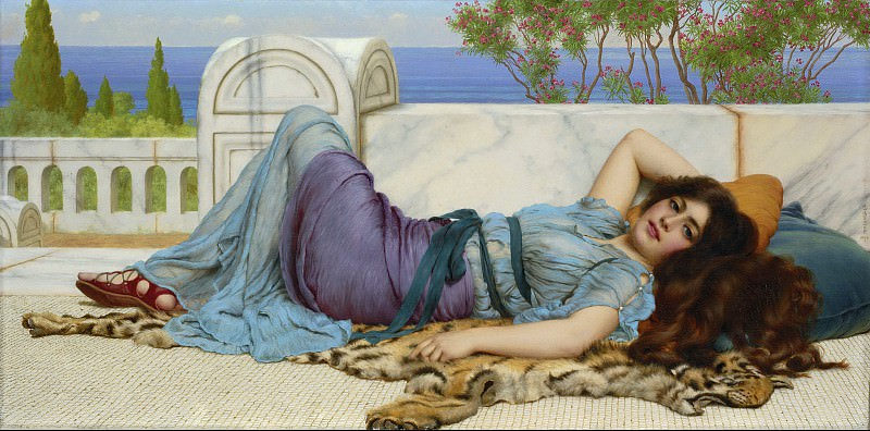Repose, John William Godward