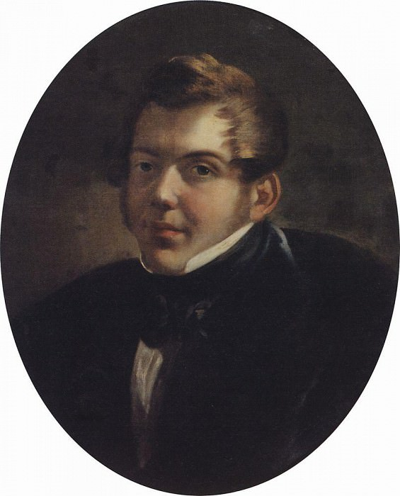 Portrait of the architect MO Lopyrevskogo. 1836, Karl Pavlovich Bryullov