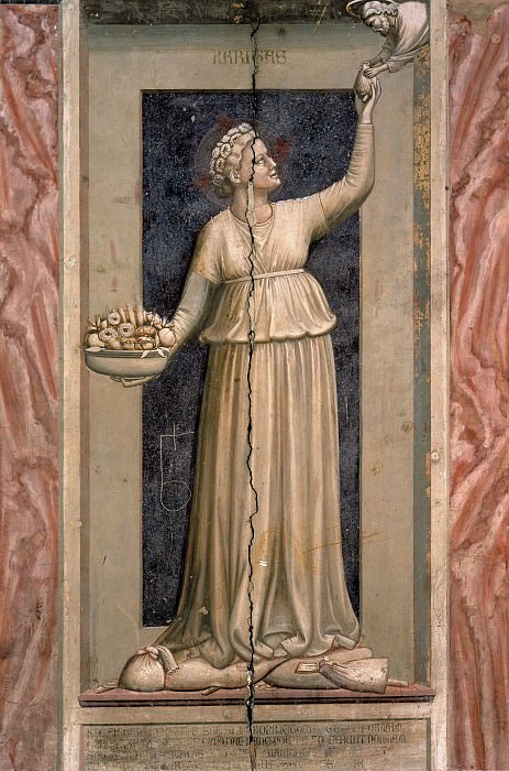 45 The Seven Virtues: Charity, Giotto di Bondone