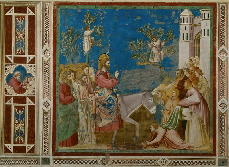 26. Entry into Jerusalem, Giotto di Bondone