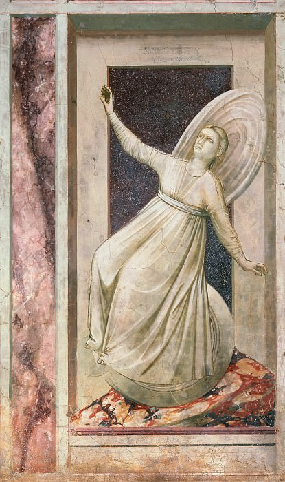 52 The Seven Vices: Inconstancy, Giotto di Bondone