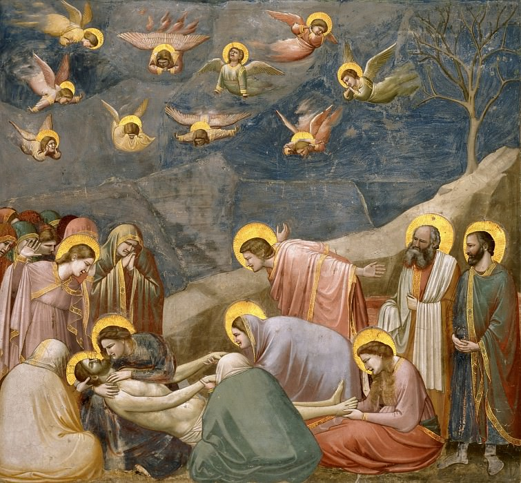 36. The Mourning of Christ, Giotto di Bondone