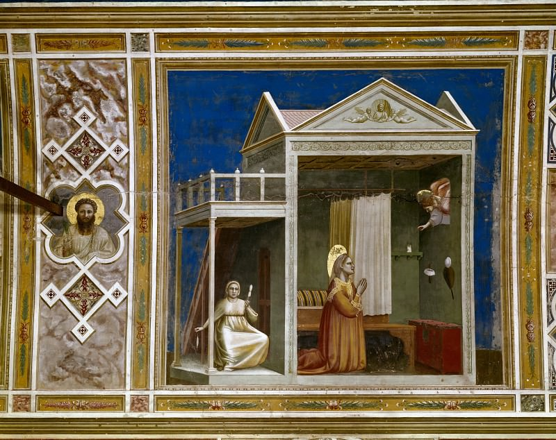 03. Annunciation to St Anne, Giotto di Bondone