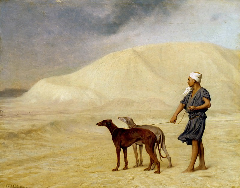 In the desert, Jean-Léon Gérôme