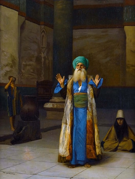 Persian Sultan in prayer, Jean-Léon Gérôme
