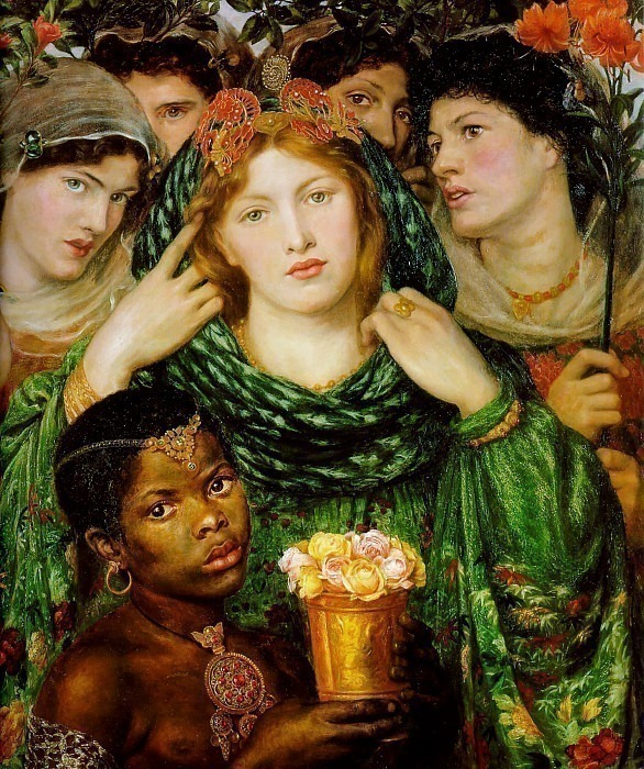 The Beloved, Dante Gabriel Rossetti
