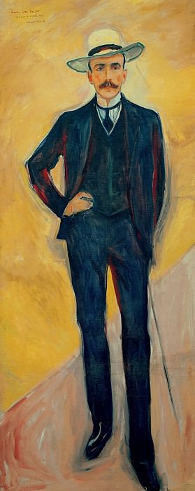 Harry Count Kessler, Edvard Munch