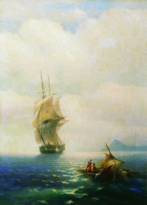 After the storm 1854 91h65, Ivan Konstantinovich Aivazovsky