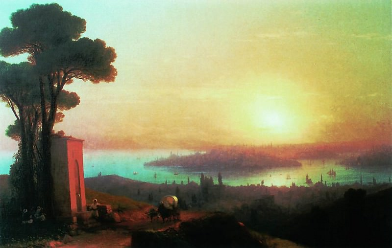 Type of Constantinople with Chamlicha 1870 120h188, Ivan Konstantinovich Aivazovsky