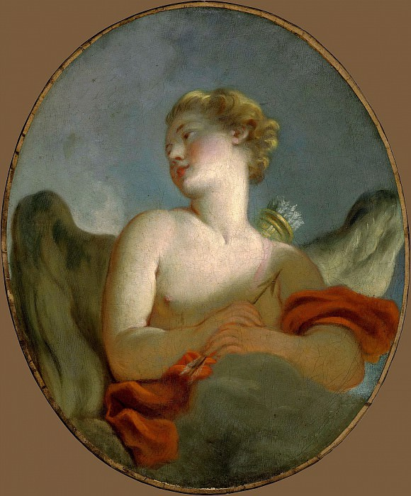Marie-Catherine Rombocoli-Riggieri Colombe as Cupid, Jean Honore Fragonard