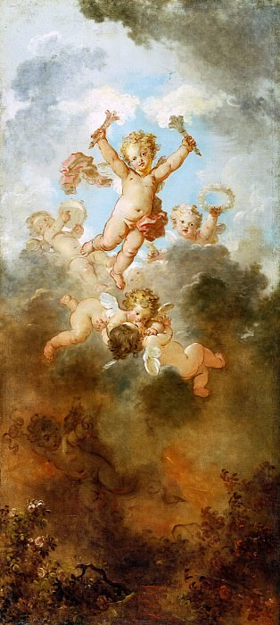 The Progress of Love: Love Triumphant, Jean Honore Fragonard