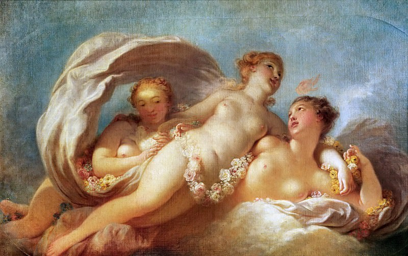 The Tree Graces, Jean Honore Fragonard