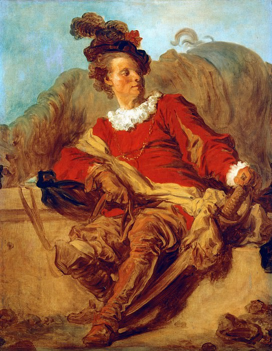 The abbot of Saint-Non in Spanish clothing, Jean Honore Fragonard