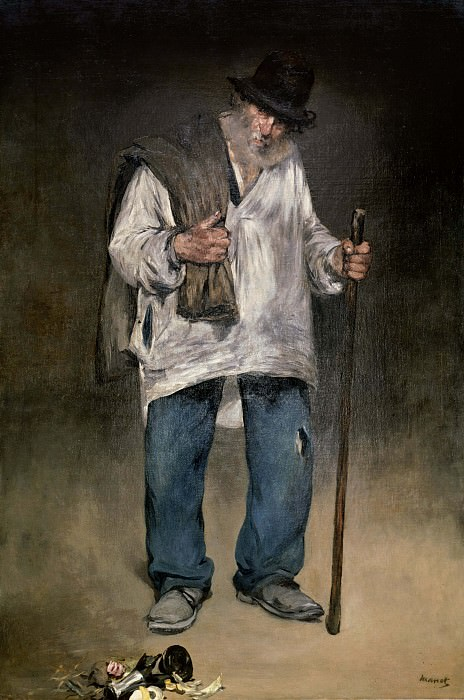The Ragman, Édouard Manet