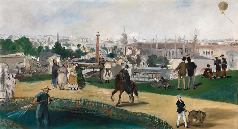 The World Exhibition in Paris in 1867, Édouard Manet