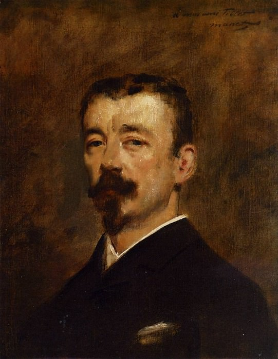 Portrait of Monsieur Tillet, Édouard Manet