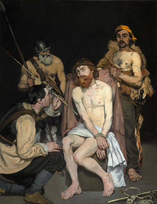 Jesus Mocked by the Soldiers, Édouard Manet