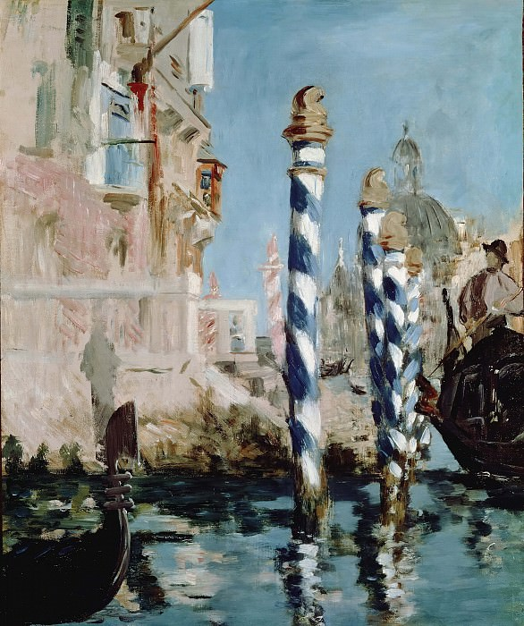The Grand Canal, Venice, Édouard Manet