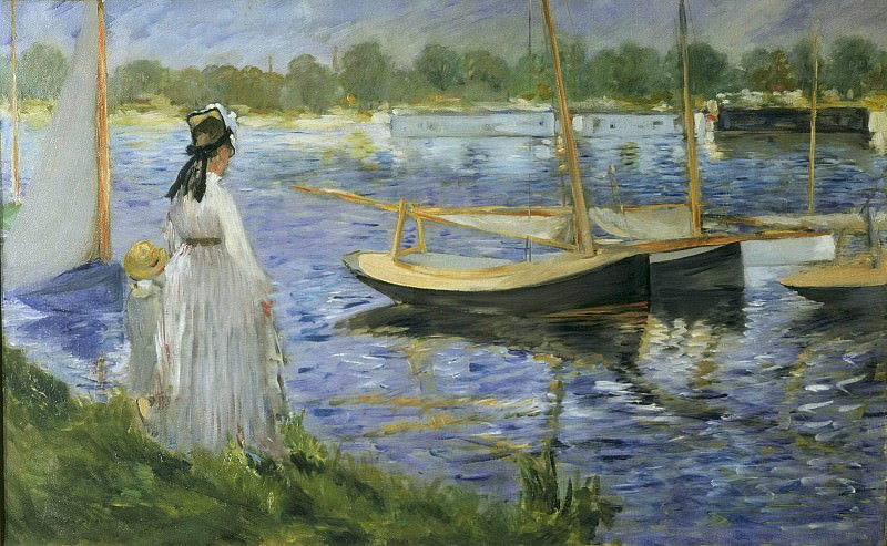 The Seine at Argenteuil, Édouard Manet