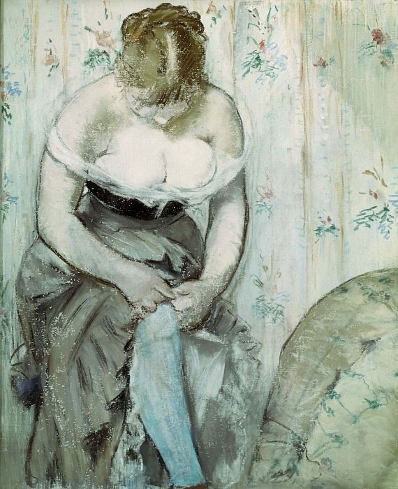 At the Toilet, Édouard Manet