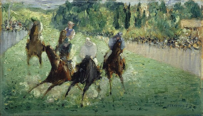 At the Races, Édouard Manet