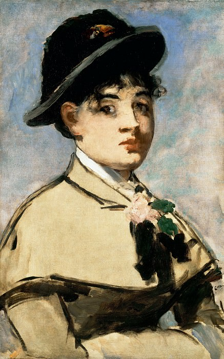 Young woman with a cap, Édouard Manet