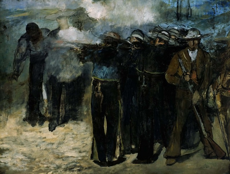 The Execution of the Emperor Maximilian, Édouard Manet