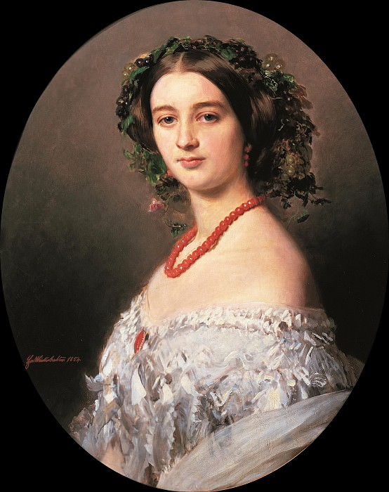 Maria Louise of Wagram Princess of Murat, Franz Xavier Winterhalter