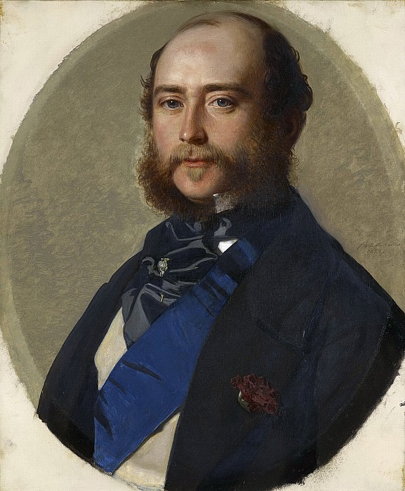 George, Duke of Cambridge 1819-1904, Franz Xavier Winterhalter