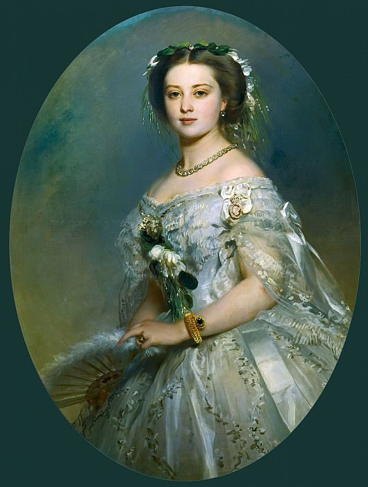 Victoria, Princess Royal 1840-1901, Franz Xavier Winterhalter