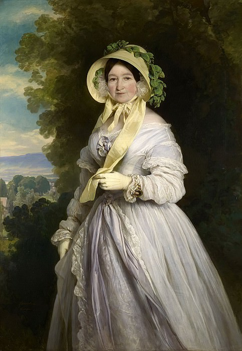 Juliane, Princess of Saxe-Coburg-Saalfield, Grand Duchess Anna Feodorovna of Russia, Franz Xavier Winterhalter