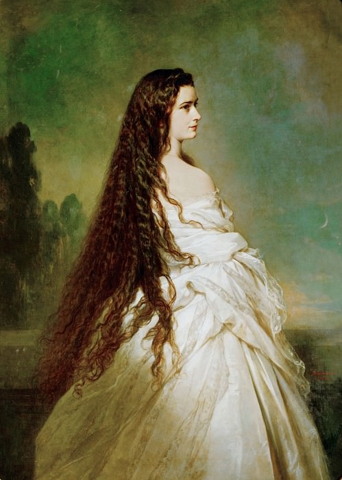 Elizabeth, Empress of Austria and Queen of Hungary, Franz Xavier Winterhalter