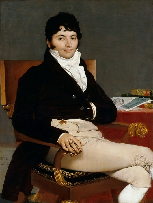 Philibert Riviere, Jean Auguste Dominique Ingres