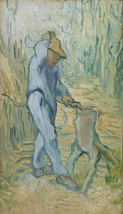 The Woodcutter after Millet, Vincent van Gogh
