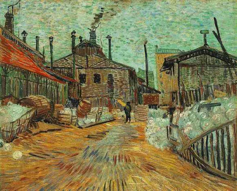 The Factory at Asnieres, Vincent van Gogh
