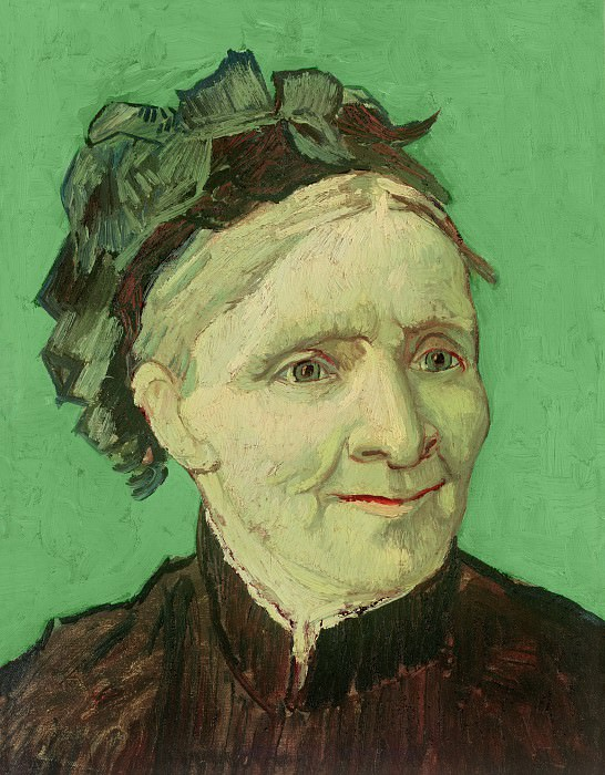 Portrait of the artists mother Anna Cornelia van Gogh, Vincent van Gogh