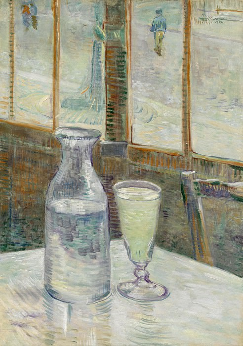 Cafe Table with Absent, Vincent van Gogh